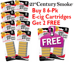 Get 10 – 1.6% 6 ct. Regular Cartridges for the price of 8!