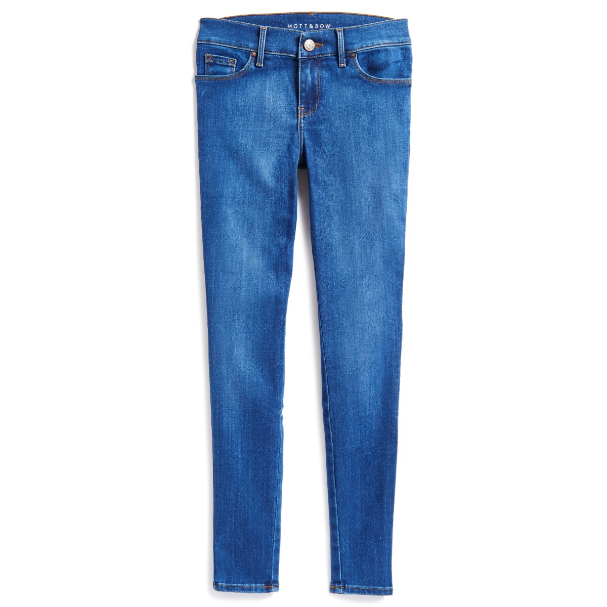 High Rise Skinny Jane Medium Blue