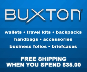 Buxton free shipping over $35
