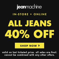 40% off jeans
