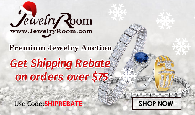 Jewelryroom.com - Get Shipping Rebate on Orders Over $75