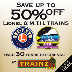 Trainz.com, Save up to 50% on Lionel and MTH Trains