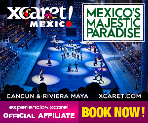 Xcaret Night show 300x250 Cancun Night Show Attraction Travel