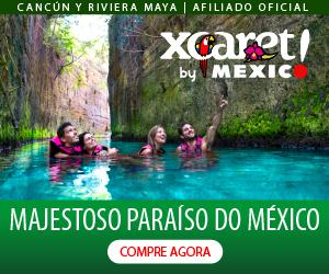 Xcaret PT Cancun México Férias Viagem