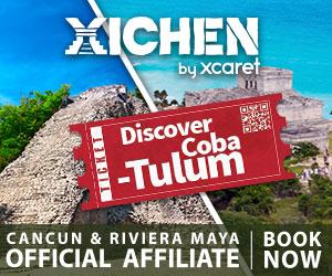 Tour Coba Tulum EN 300x250 Cancun Riviera Maya