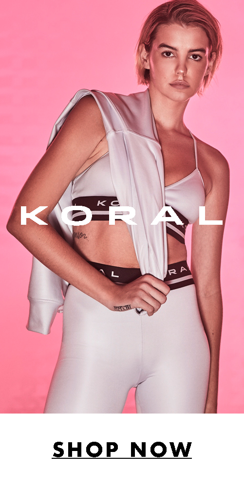 Free Ground Shipping and Returns at Koral. Shop Premium Activewear. Click Here!