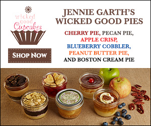 All New!! Jennie Garth's Wicked Good Pies 6 Delicious Flavors Available Now!
