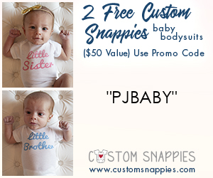 2 Free Custom Snappies with Childs Name!