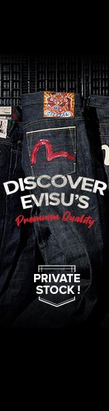 Discover Evisu's premium quality on Evisu online store now!