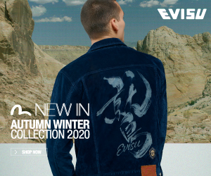 EVISU AW20 EVERGREEN COLLECTION