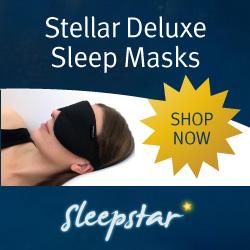 Travel Eye Mask Stellar Deluxe
