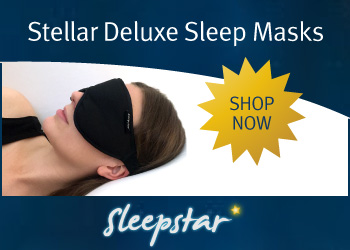 Travel Eye Mask Stellar Deluxe