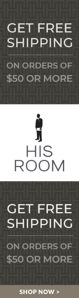 HisRoom Free shipping on orders of $50 or more*