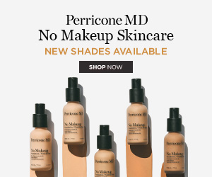 Calling on all women who are looking for a no - make up natural look. NO MAKE UP foundation from Perricone MD with alpha lipoic acid gives sheer coverage, sheer confidence.Visibly minimizes the look of pores and improves skin both instantly and over time.