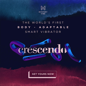 MysteryVibe Crescendo - The World's first body-adapting vibrator