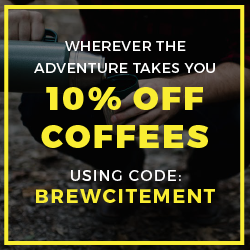 10% All Coffees using BREWCITEMENT