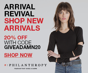 Arrival Revival. Shop New Arrivals from n:Philanthropy
