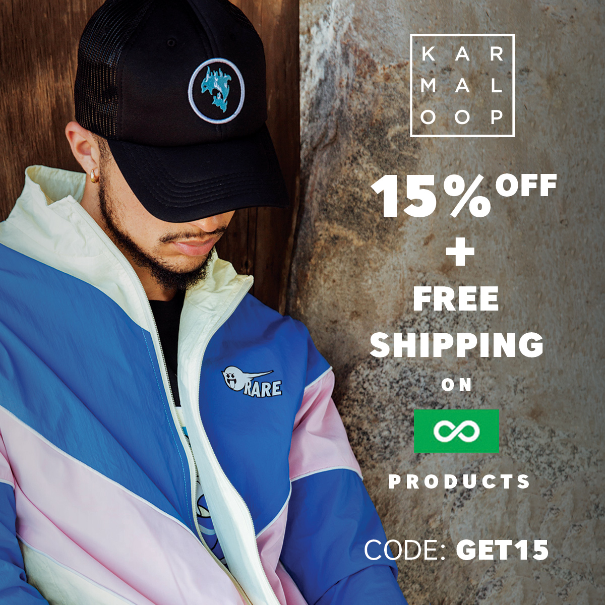 Shop 15% Off + Free Shipping at Karmaloop Today!