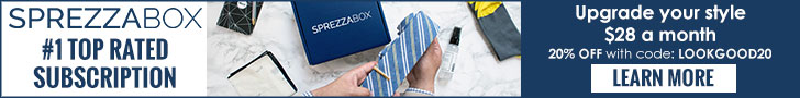 SprezzaBox Top Rated Men's Subscription Box