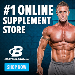 #1 Online Supplement Store 250 x 250
