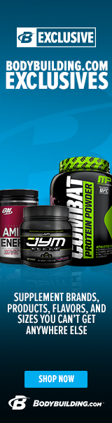 Bodybuilding.com Exclusive Brands 120 x 600