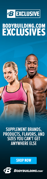 Bodybuilding.com Exclusive Brands 160 x 600