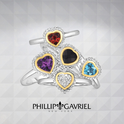 JewelryAffairs Phillip Gavriel Womens Heart Rings 250 x 250