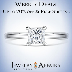 JewelryAffairs Weekly Deals & Free Shipping on All Orders 250x250