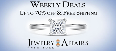 JewelryAffairs Weekly Deals & Free Shipping on All Orders