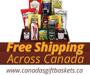 Canada's Gift Baskets - Free Shipping to Canada