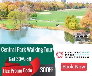 Get 30% OFF Central Park Walking Tour