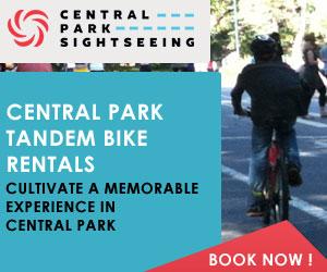 Central Park Tandem Bike Rentals