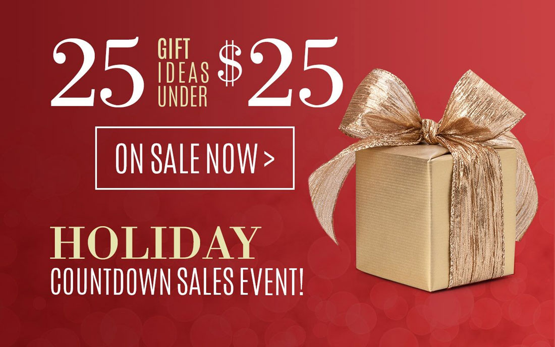 Holiday Countdown Sales Event!