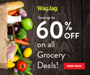 Save up to 60% on all Grocery Deals