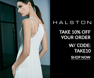 Halston - 15% Off your First Purchase