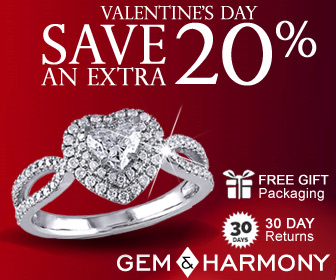 Valentines Day 20% Off - Gem & Harmony
