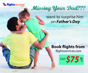 Father's Day Flight Deals