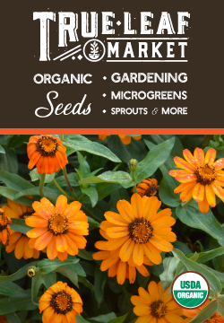 Check out our organic gardening products at True Leaf Market