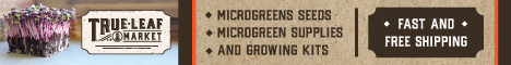 Check out our Microgreens at True Leaf Market