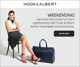 Weekending has never been easier! Shop leather travel bags and accessories at Hook & Albert!