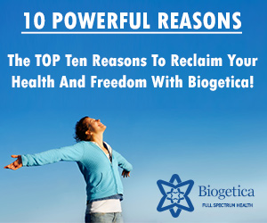 Ten reason to reclaim and health with biogetica