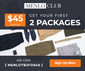 First 2 Menlo Club Packages, $45 Each - 300x250