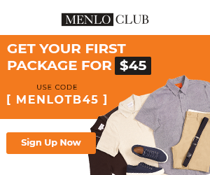 $45 First Menlo Club Package - 300x250