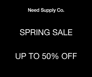 Spring Sale! 50% off markdowns