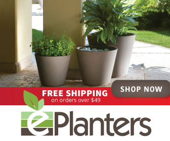 ePlanters Free Shipping