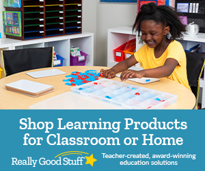 Easy, Innovative Solutions For Today's Classroom Challenges At ReallyGoodStuff.com! Shop Here!