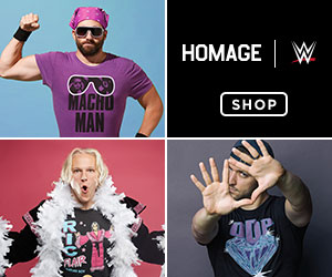 Shop the WWE Collection at Homage