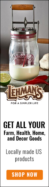 Find lots of unique solutions for your home, cabin or farmhouse at LEHMAN'S Old Time General Store! Shop now!