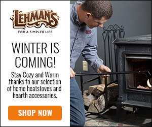 Stay Cozy and Warm with Home Heatstoves and Heart Accessories at Lehman's!