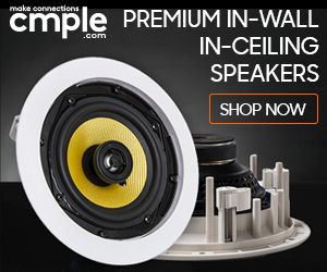 Premium home speakers